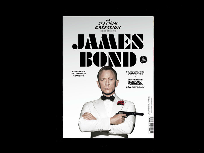 """La Septième Obsession, """"James Bond"""" issue 1"""