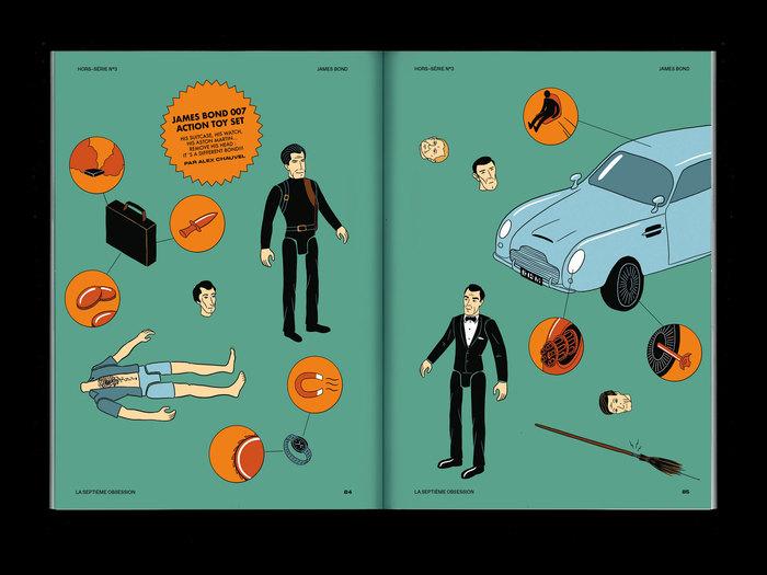 """La Septième Obsession, """"James Bond"""" issue 9"""