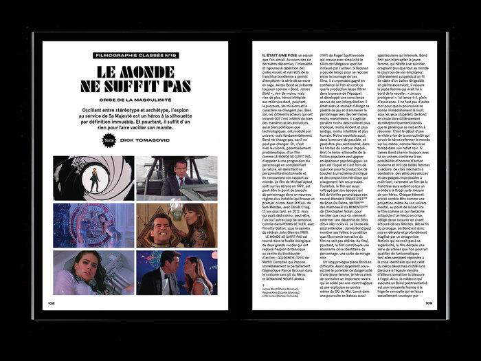 """La Septième Obsession, """"James Bond"""" issue 8"""