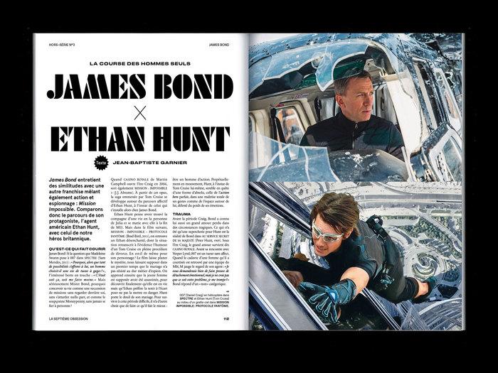 """La Septième Obsession, """"James Bond"""" issue 3"""