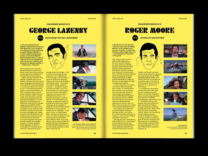 """La Septième Obsession, """"James Bond"""" issue 10"""