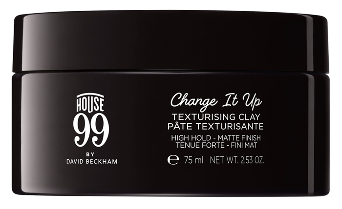 The House 99 logo appears to be custom. Fonts used for the packaging design include  and .
