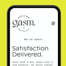 Gasm café & bar