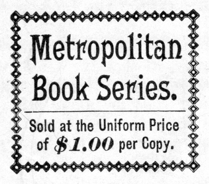 Metropolitan Series advertisements 1
