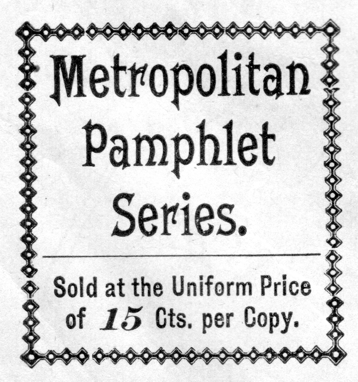 Metropolitan Series advertisements 4