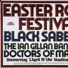 Easter Rock Festival 1977 posters and tickets