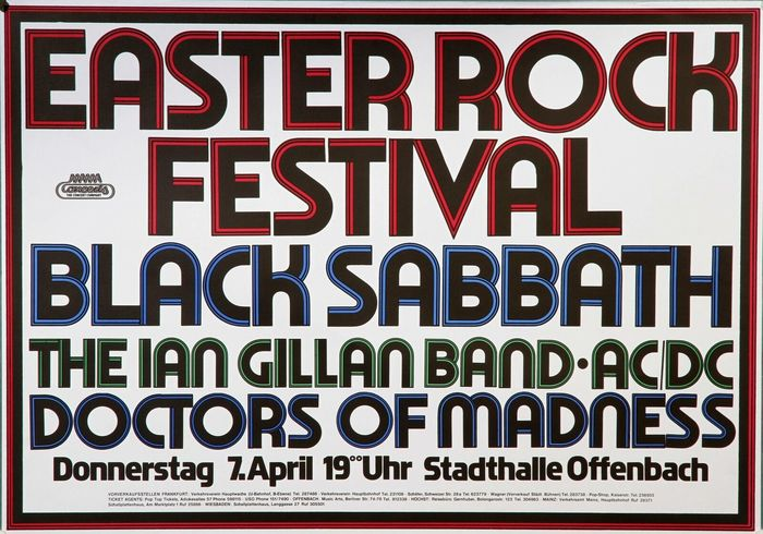 Easter Rock Festival 1977 posters and tickets 1