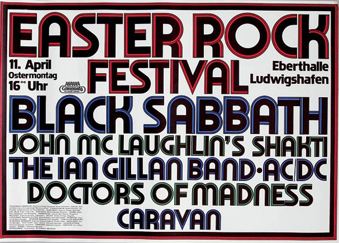 Easter Rock Festival 1977 posters and tickets 2