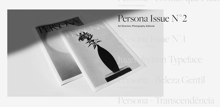Jean Wojciechowski portfolio website 1