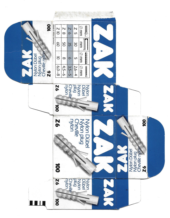 ZAK nylon plug packaging 3