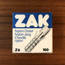 ZAK nylon plug packaging