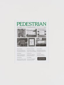 <cite>Pedestrian</cite> magazine, issue 05