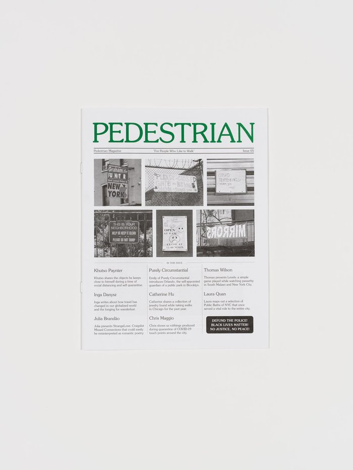 Pedestrian magazine, issue 05 1