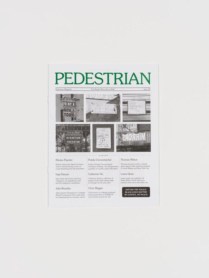 Pedestrian magazine, issue 05 1