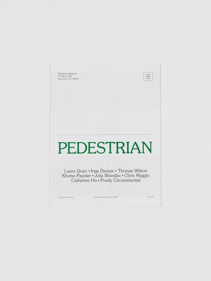 Pedestrian magazine, issue 05 6