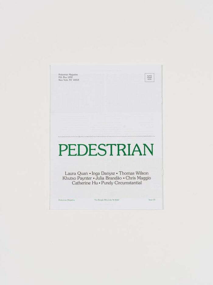 Pedestrian magazine, issue 05 6