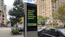 NYC Census 2020 on LinkNYC