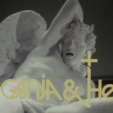 <cite>Ganja &amp; Hess</cite> (1973) movie logo and poster