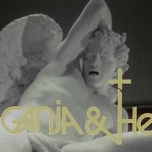<cite>Ganja &amp; Hess</cite> (1973) movie logo and poster