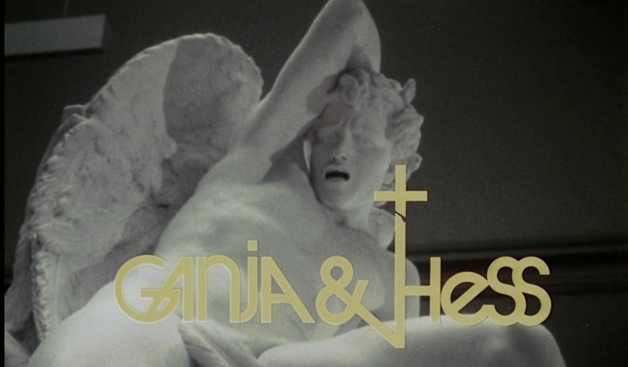 Ganja & Hess (1973) movie logo and poster 1
