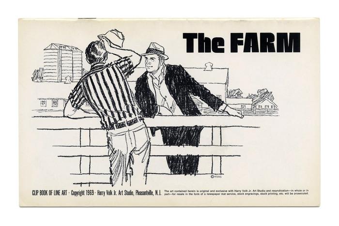 """The Farm"" (No. 506) ft. . Illustration by Tom Sawyer."