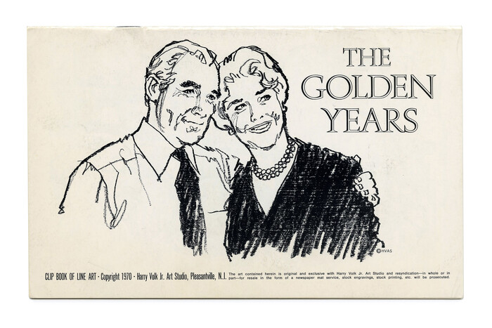 """""""The Golden Years"""" (No. 544) ft. . Illustration by Tom Sawyer."""