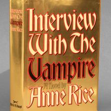 <cite>Interview With The Vampire</cite>, Knopf first edition jacket
