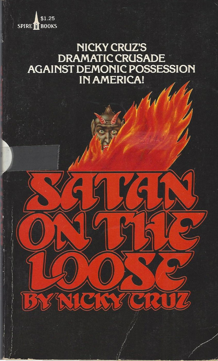 Satan on the Loose by Nicky Cruz (Spire Books) 1