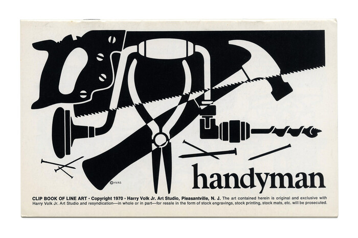 """""""Handyman"""" (No. 543) ft.  Bold, with a shortened ascender for d."""