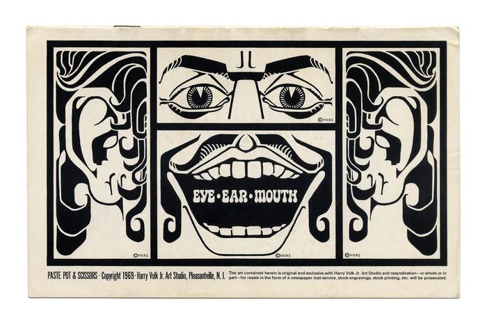 """""""Eye, Ear, Mouth"""" (No. PP124) ft. ."""