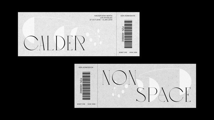 General admission tickets, front and back.