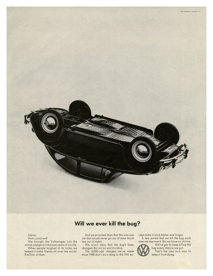 """Will we ever kill the bug?"", 1965."