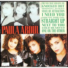 Paula Abdul – <cite>Forever Your Girl</cite> album art