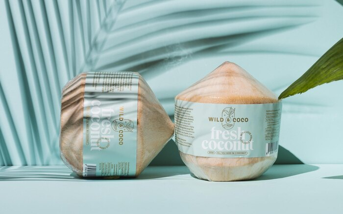 Wild & Coco packaging and visual identity 4
