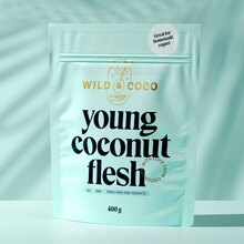 Wild & Coco packaging and visual identity
