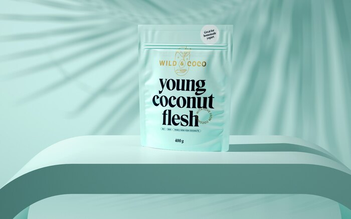 Wild & Coco packaging and visual identity 3