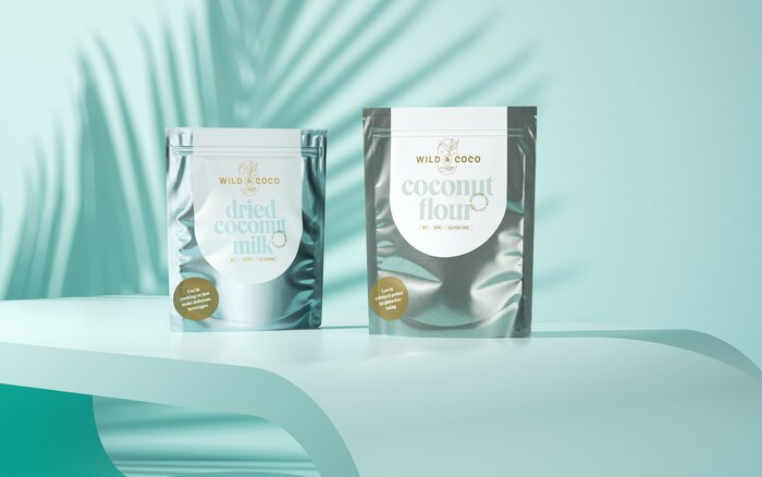 Wild & Coco packaging and visual identity 5