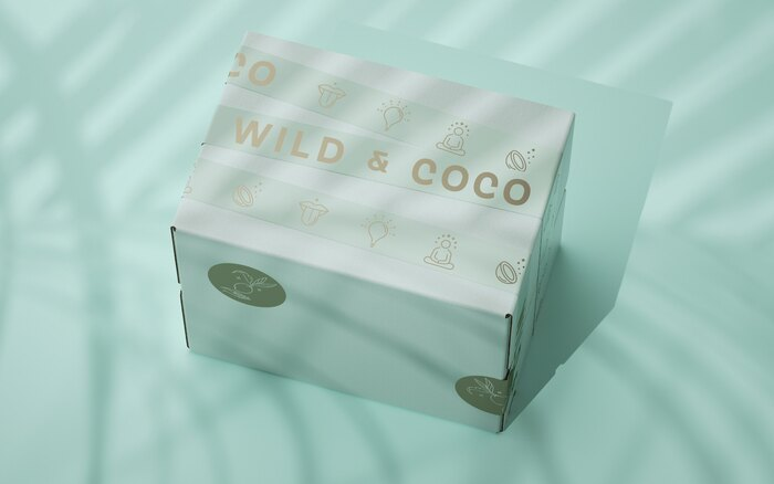 Wild & Coco packaging and visual identity 2