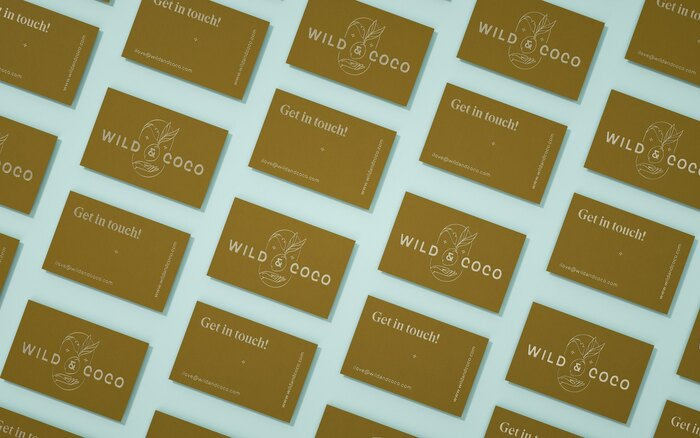 Wild & Coco packaging and visual identity 6