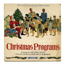 <cite>The United States Air Force presents Christmas Programs</cite> album art