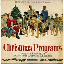 <cite>The United States Air Force presents Christmas Programs</cite> album art