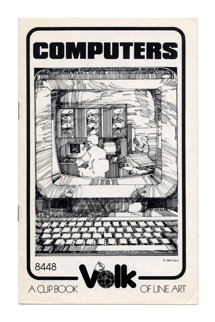 """Computers"" (No. 8448) ft. more  Black."