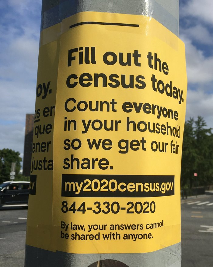 My 2020 census poster series 1