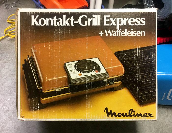 Moulinex Kontakt-Grill Express 1