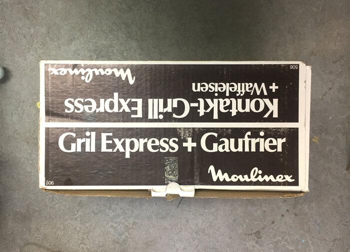 Moulinex Kontakt-Grill Express 2