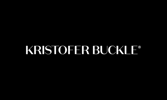 The Kristofer Buckle logo is based on caps from  Medium.