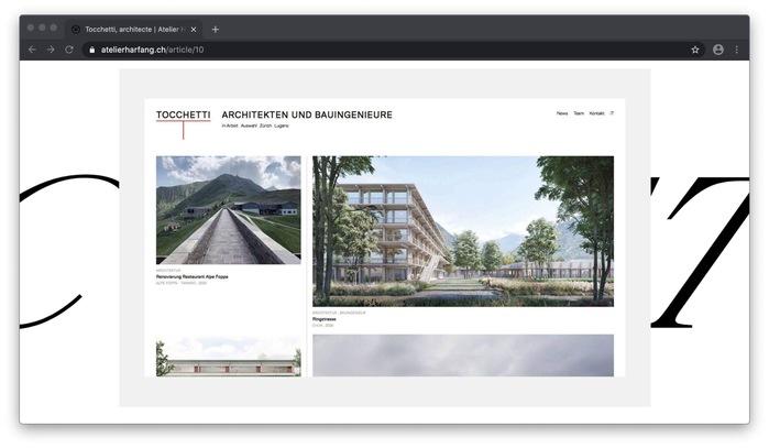 Atelier Harfang website 3