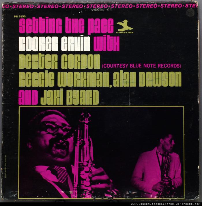 Booker Ervin with Dexter Gordon et al. – Setting the Pace album art 2