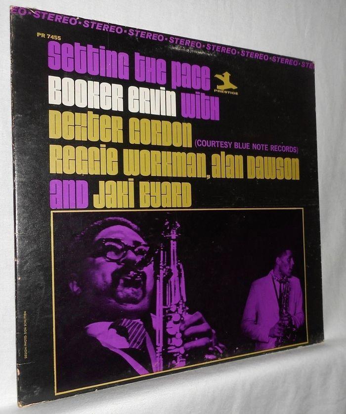 Booker Ervin with Dexter Gordon et al. – Setting the Pace album art 4