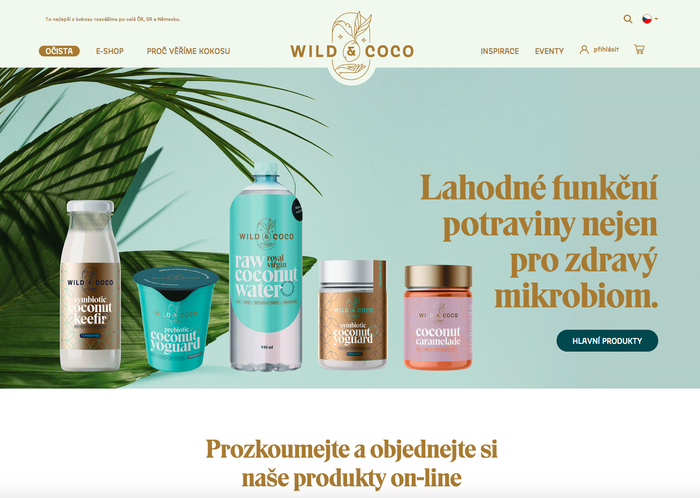Wild & Coco packaging and visual identity 10